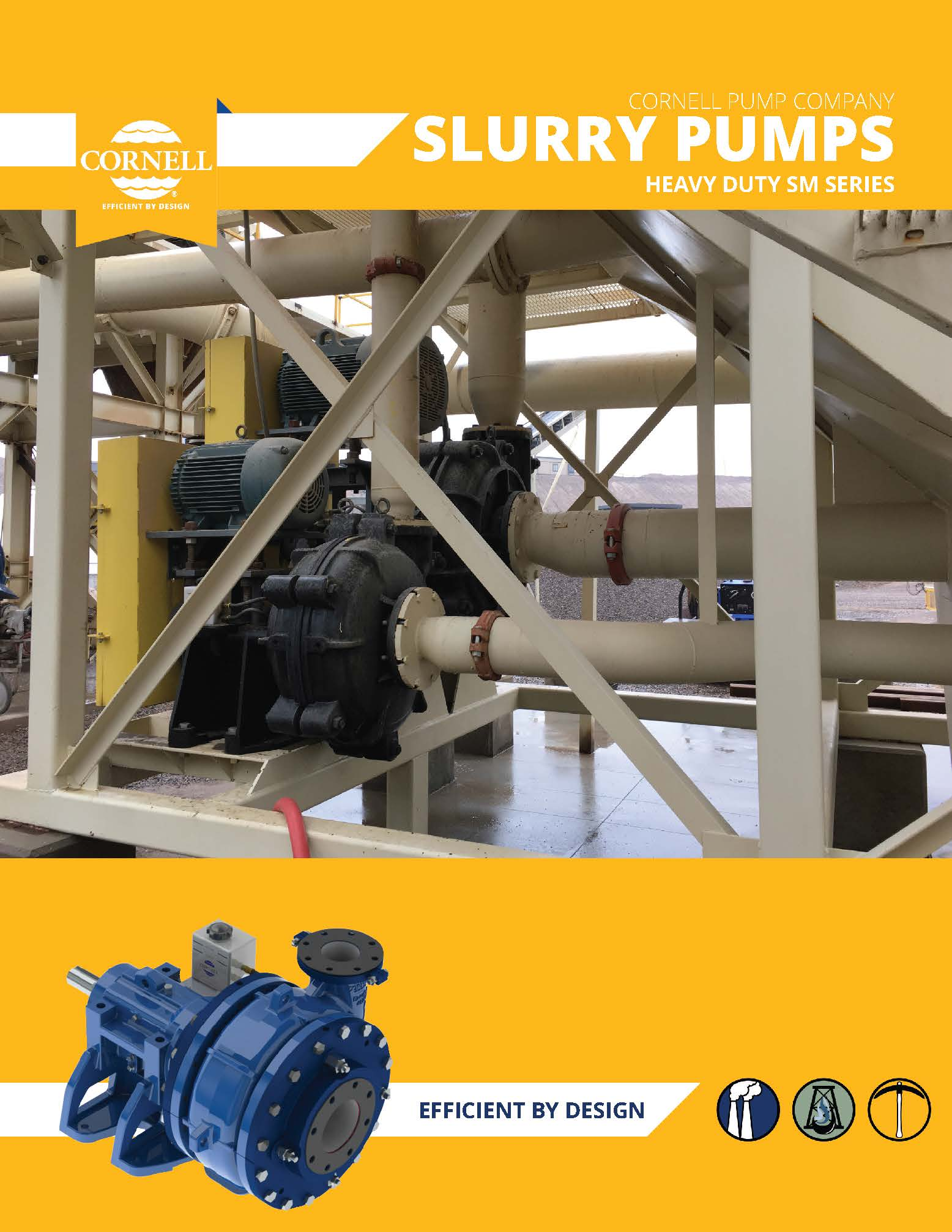 Cornell – SM Series Slurry pumps