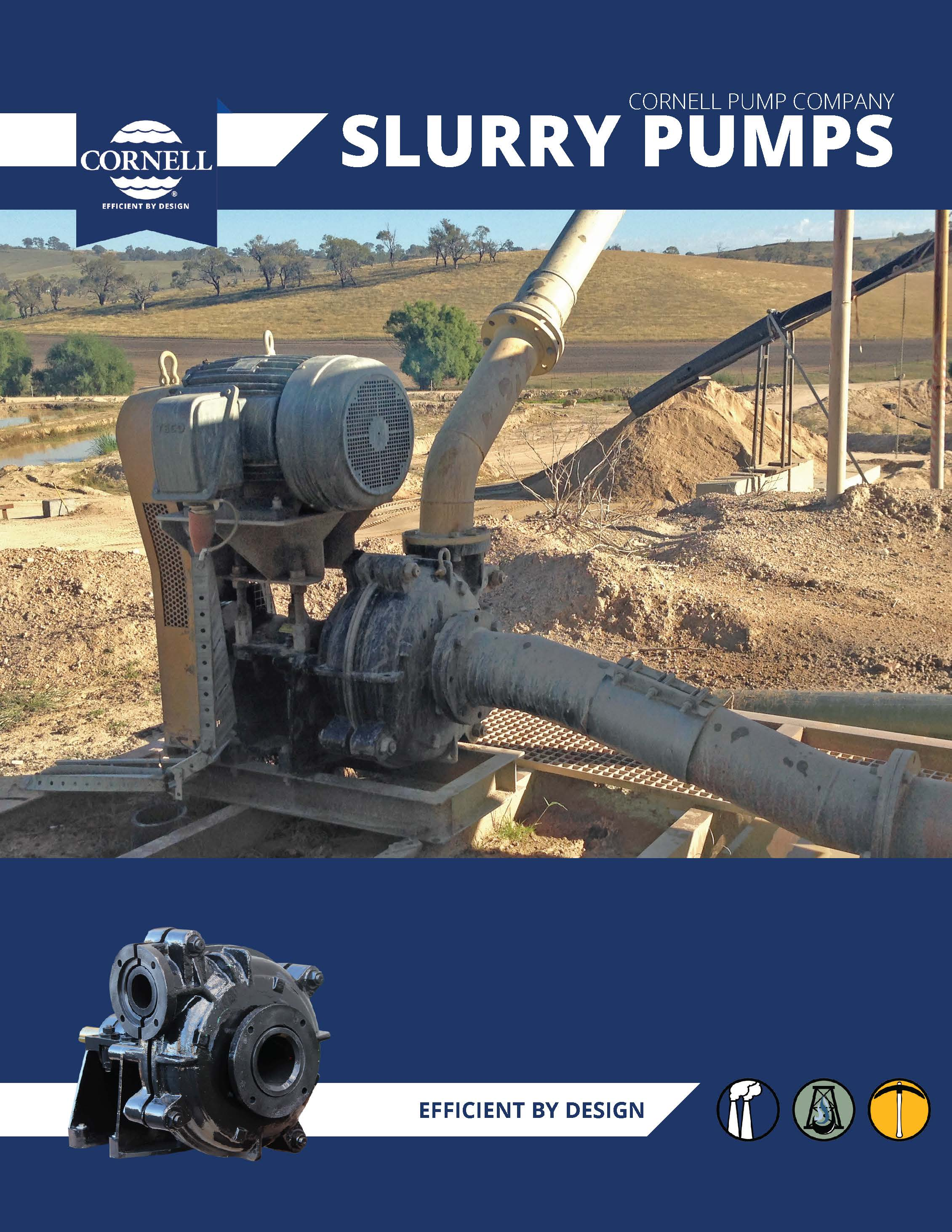 Cornell – SP Series Slurry pumps