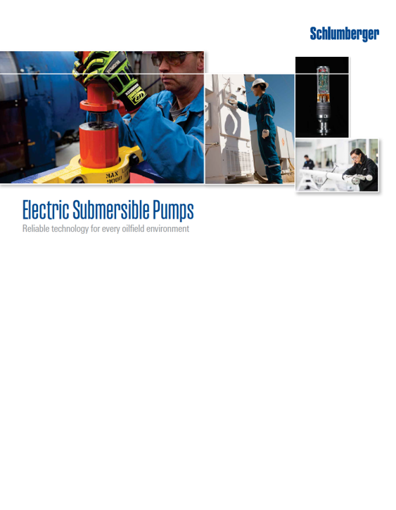 Schlumberger – Electric Submersible Pumps